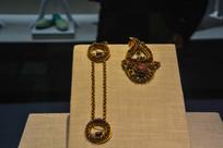 马来西亚博物馆藏品娘惹头戴装饰