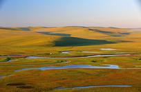 莫日格勒河秋天风景