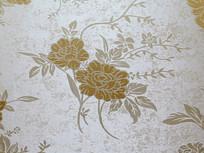 墙布上的花纹