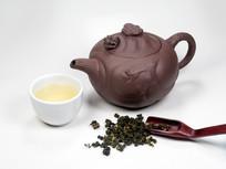 台湾高山茶和茶具