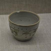 文物五彩瓷罐