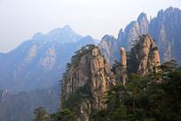 黄山秀美奇峰