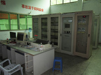 水电站中控室