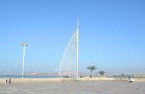 鲅鱼圈星海广场城市风景
