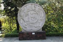 中国龙图腾雕刻