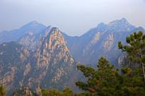 壮丽的黄山