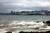 海滨城市一角
