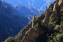 黄山奇石景观