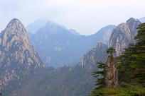 黄山奇石山峰
