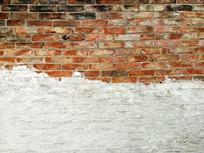 灰砖老墙纹理