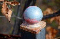 金属圆球扶手