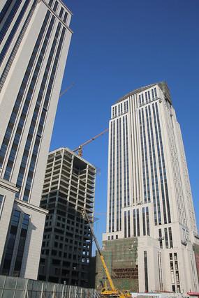 丽泽商务区在建大厦
