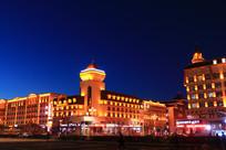 牙克石市欧式建筑灯光