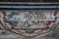 颐和园长廊彩绘画古代故事