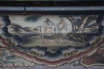 颐和园长廊彩绘画古代人物