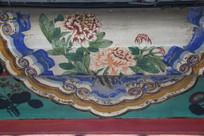 颐和园长廊彩绘画菊花