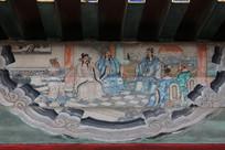 颐和园长廊彩绘画三国志故事