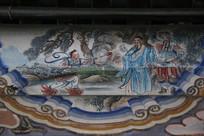 颐和园长廊彩绘画西游记红孩儿