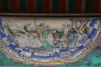 颐和园长廊彩绘画西游记唐僧师徒
