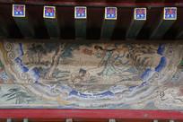 颐和园长廊彩绘画西游记铁扇公主