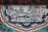 颐和园长廊彩绘画西游记诸葛亮