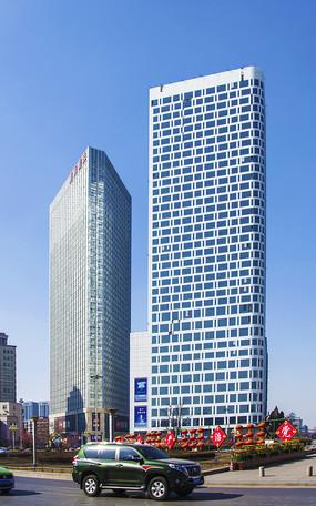 鞍山胜利广场高层建筑