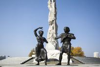 雕塑民族舞蹈