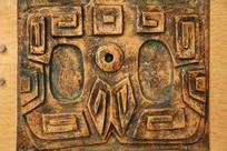铜雕古代图腾