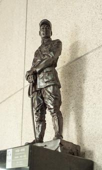 雕塑中国将领