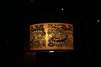 中式雕花灯