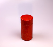 红色喜庆茶叶罐