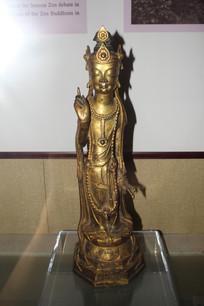 古代铜制神仙像