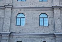 欧式灰墙窗户墙面背景