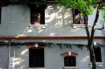 武康路小楼外墙立面