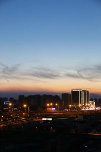 北京三环城市夜景
