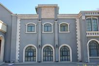 欧式风格建筑墙