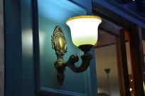 欧式花纹壁灯