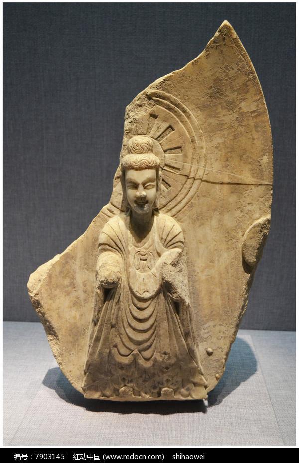 北齐菩萨残像