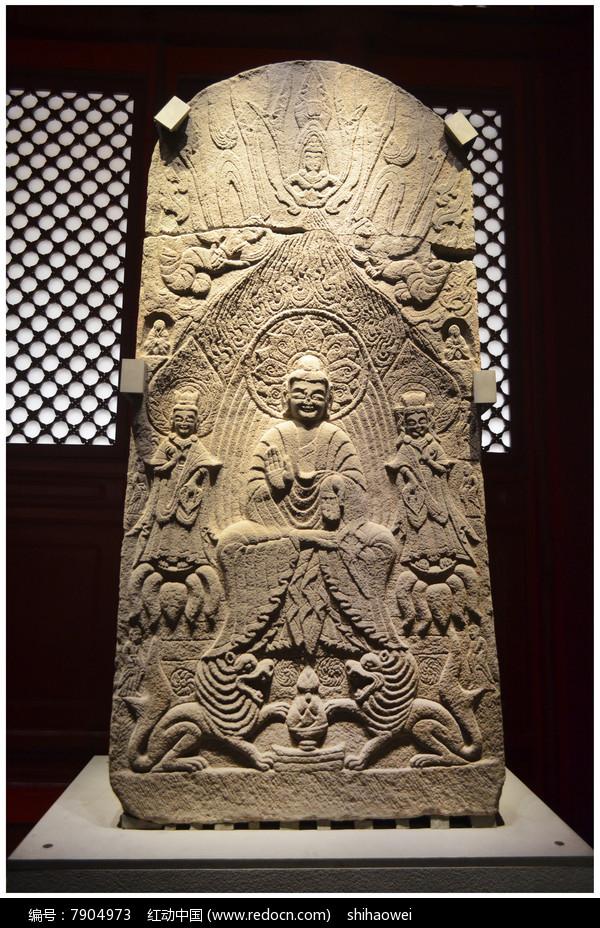 石雕佛龛造像