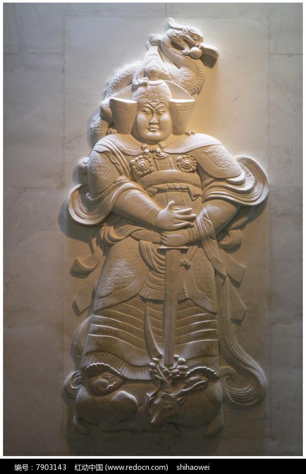 曲阳石雕壁画