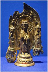 僧成造铜弥勒像