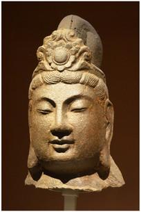 隋朝石雕菩萨像