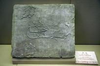 东汉时期斧车画像砖