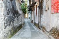 古老建筑小巷