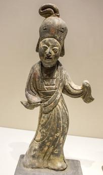南唐舞蹈陶俑