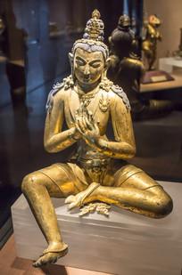 清代弥勒菩萨像