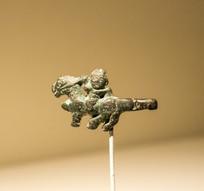 骑士青铜带钩
