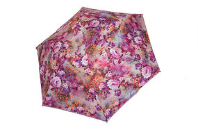 紫色花雨伞