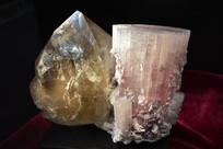 电气石与水晶