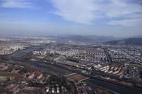 俯拍城市全景